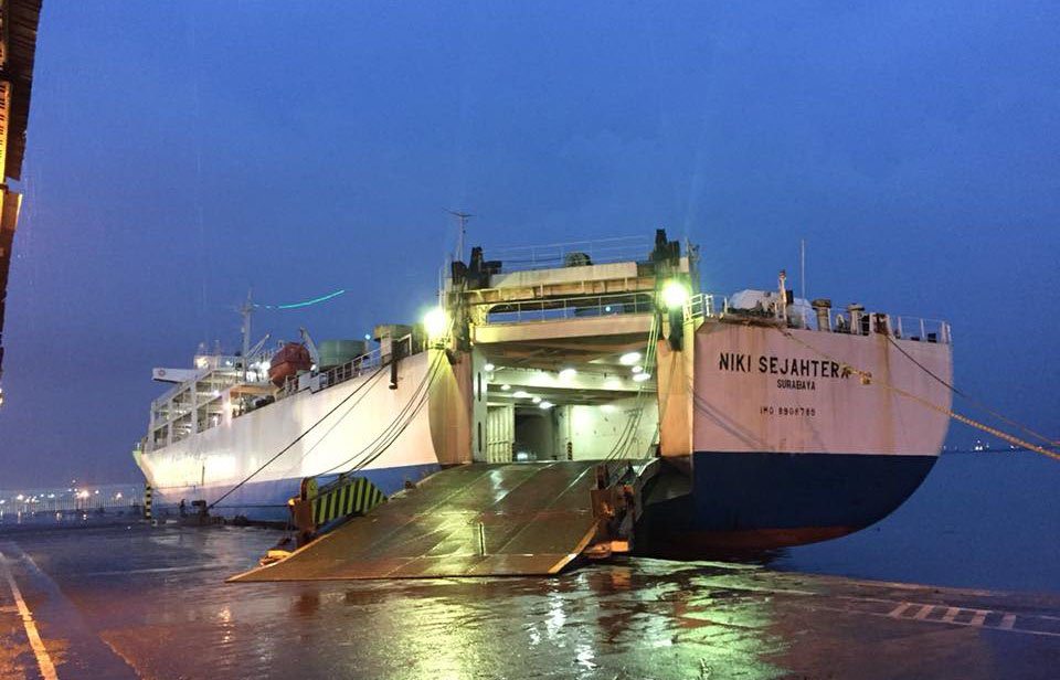 Km Niki Sejahtera Kapal Roro Surabaya Labuan Bajo Ende Pp