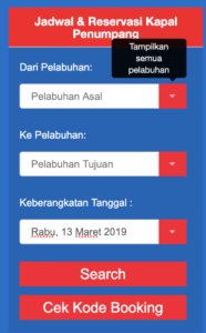 Jadwal Pelni Binaiya