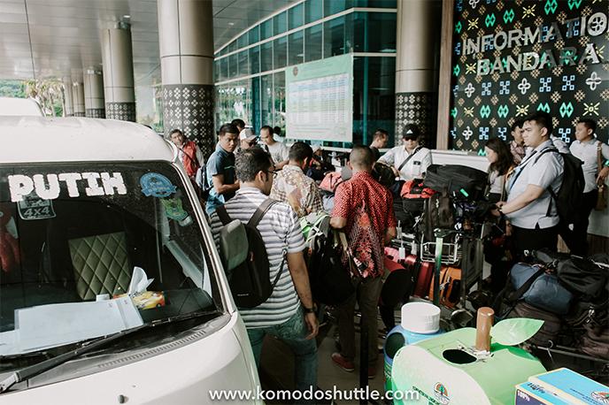 Portofolio Komodo Shuttle